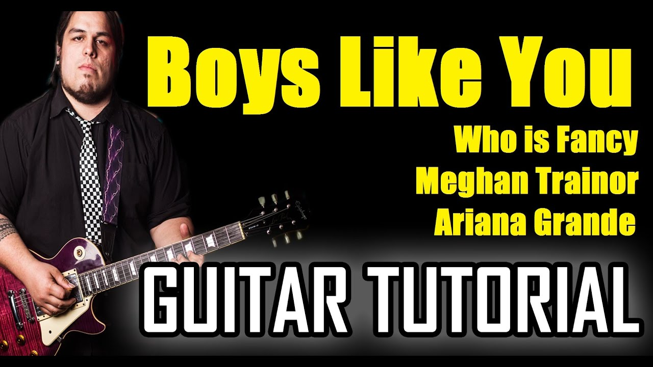 what i like about you guitar tutorial