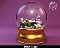 snow globe tutorial photoshop