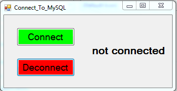 vb net sql connection tutorial