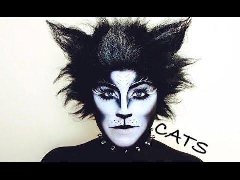 cat face makeup tutorial