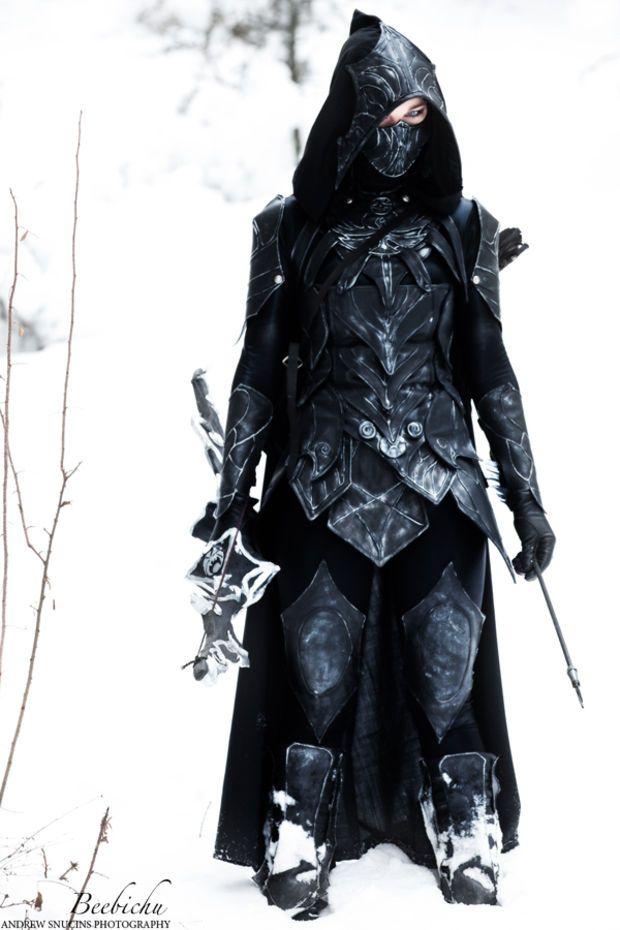 daedric armor cosplay tutorial