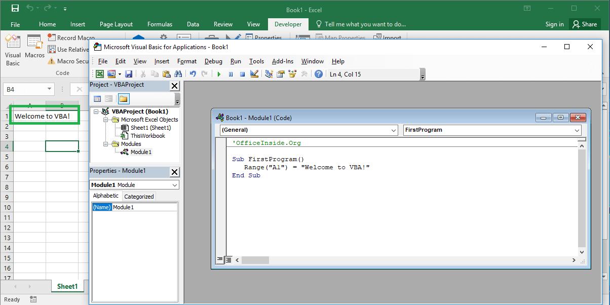 excel macro programming tutorial
