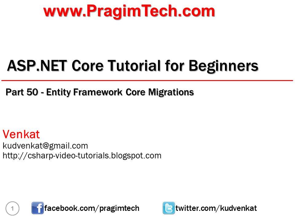 entity framework 6 tutorial
