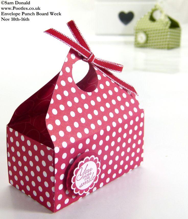 envelope punch board box tutorial