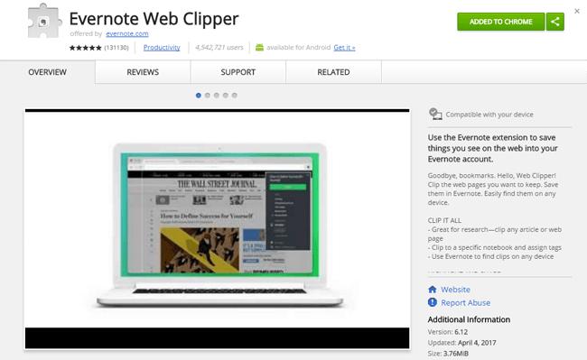 evernote web clipper tutorial