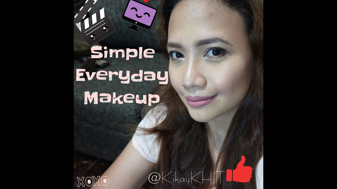 everyday drugstore makeup tutorial