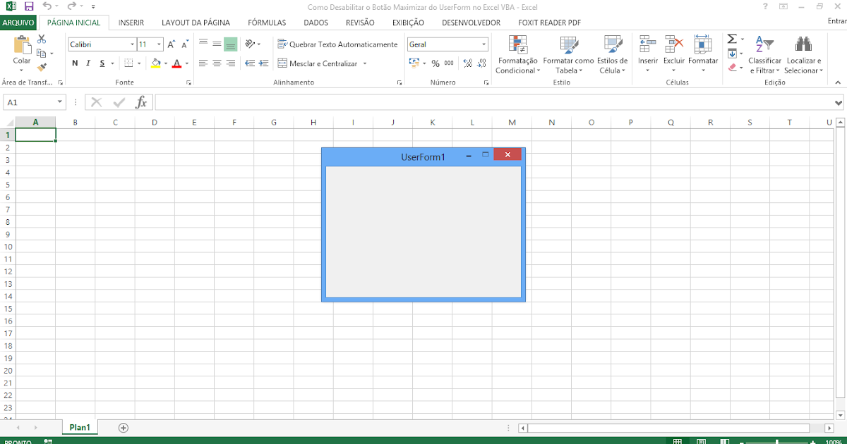 excel 2013 vba tutorial