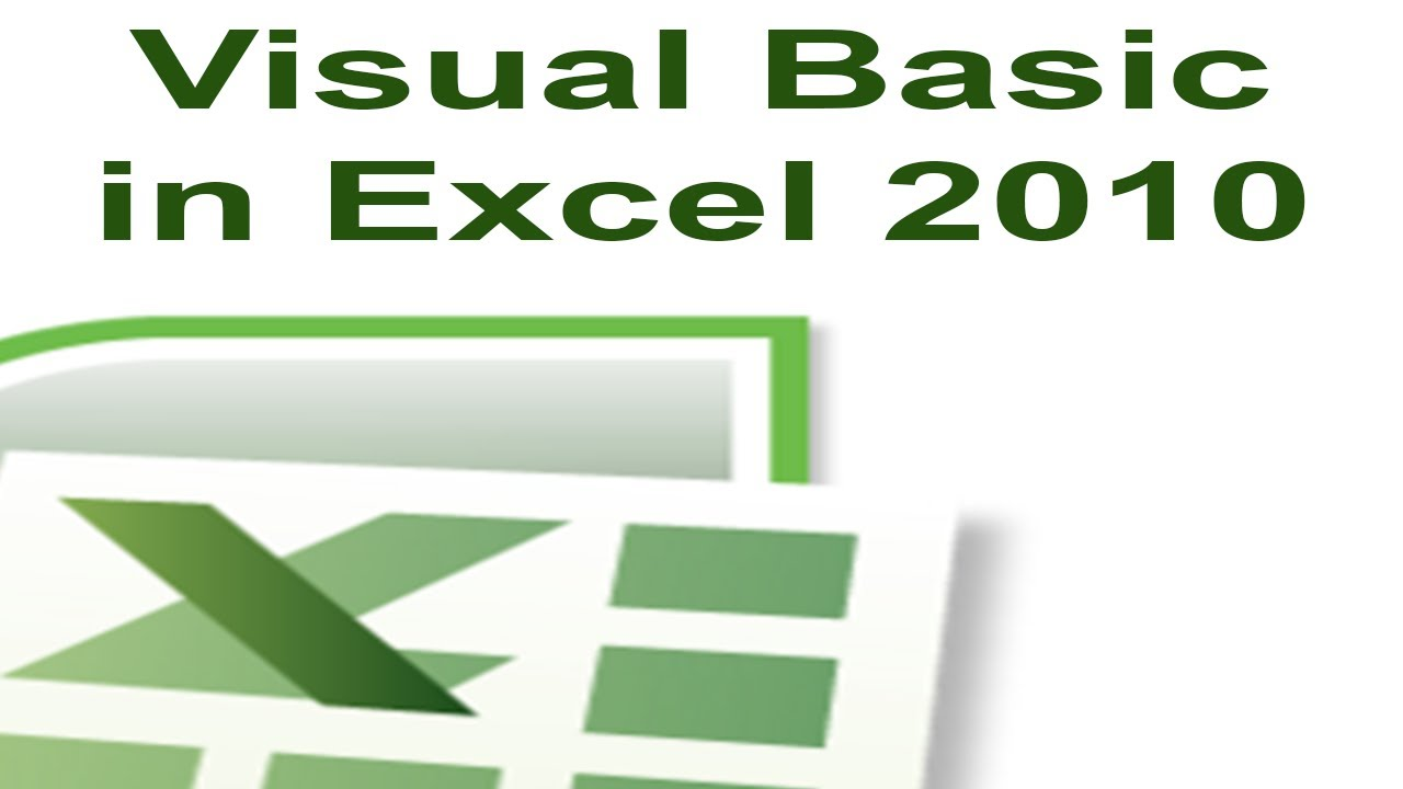 excel class module tutorial