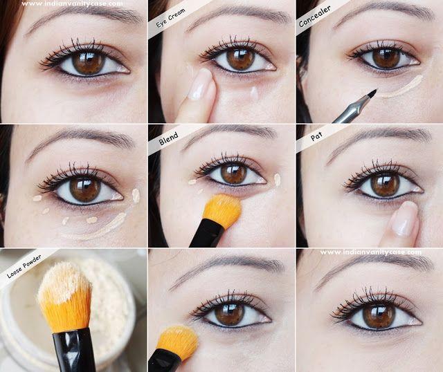 eye makeup for glasses tutorial