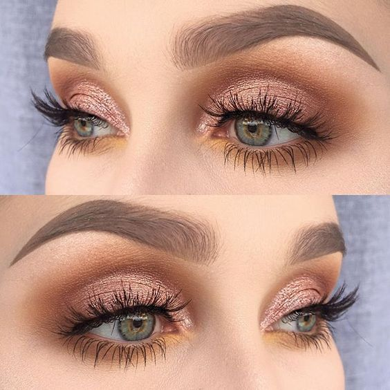 eye makeup tutorial to make eyes look bigger