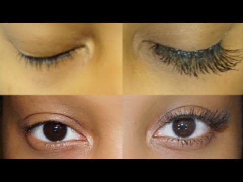 eyelash extensions tutorial on yourself