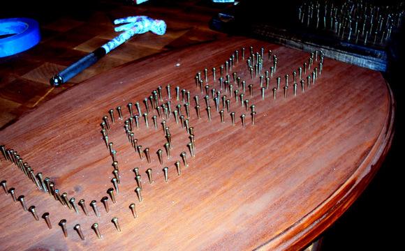 nail string art tutorial