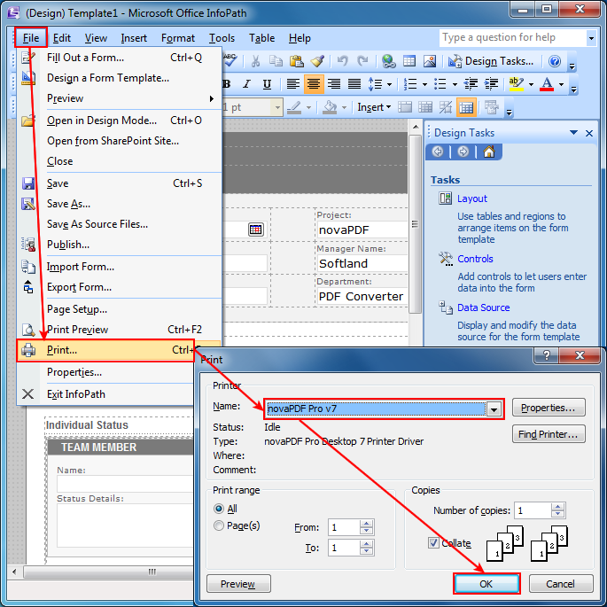 infopath 2010 tutorial pdf