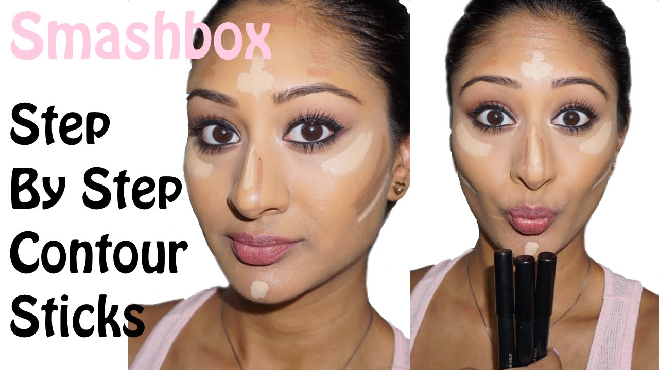 smashbox contour sticks tutorial