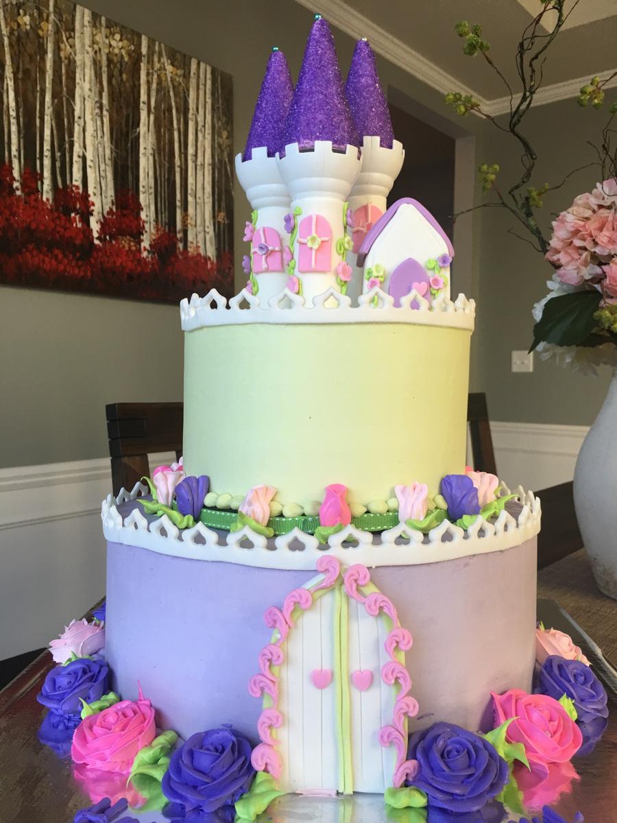 wilton castle cake tutorial
