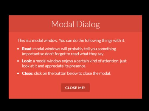 jquery modal window tutorial