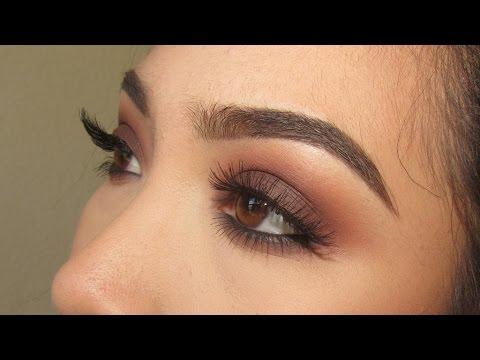 light smokey eye tutorial