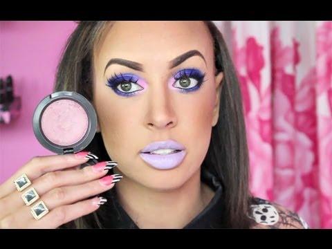 barbie eye makeup tutorial