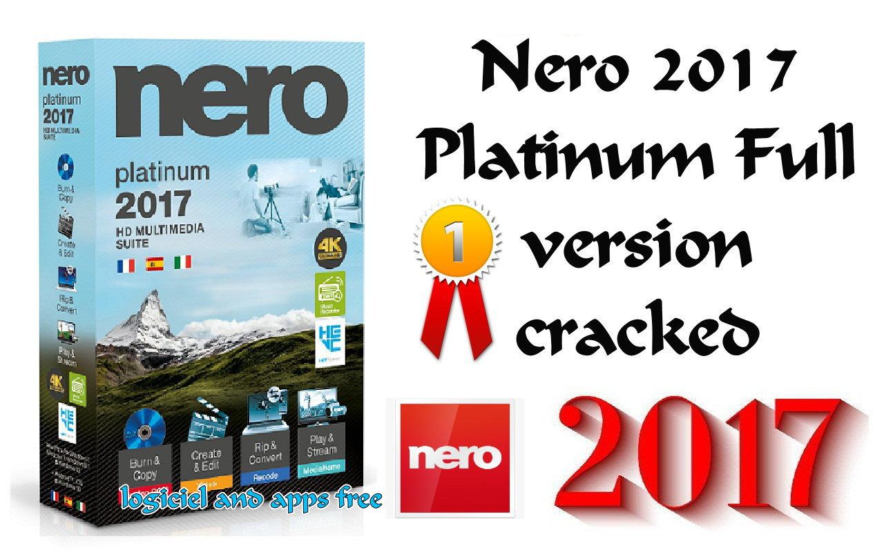 nero 2017 platinum tutorial