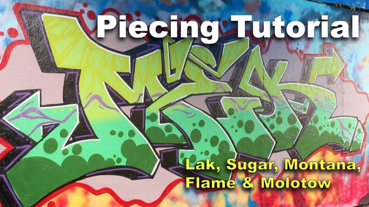 graffiti tutorial spray paint