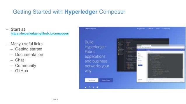 hyperledger composer playground tutorial