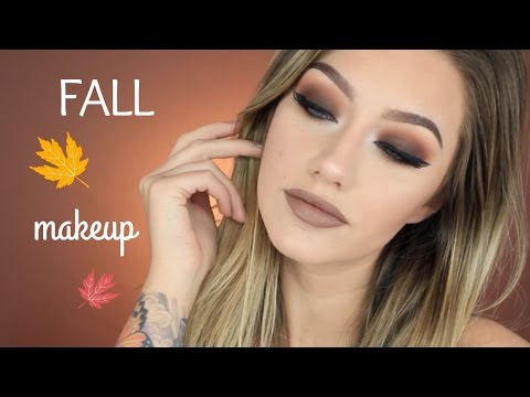fall eye makeup tutorial