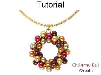 ornament ball wreath tutorial