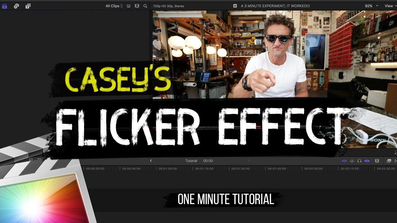 final cut pro effects tutorial