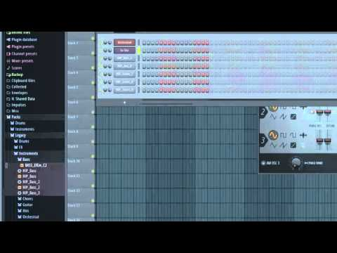 fl studio rap beat tutorial
