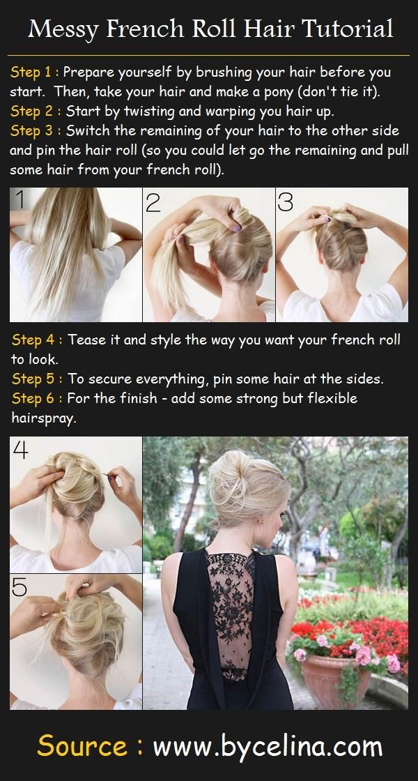 french twist hairstyle tutorial