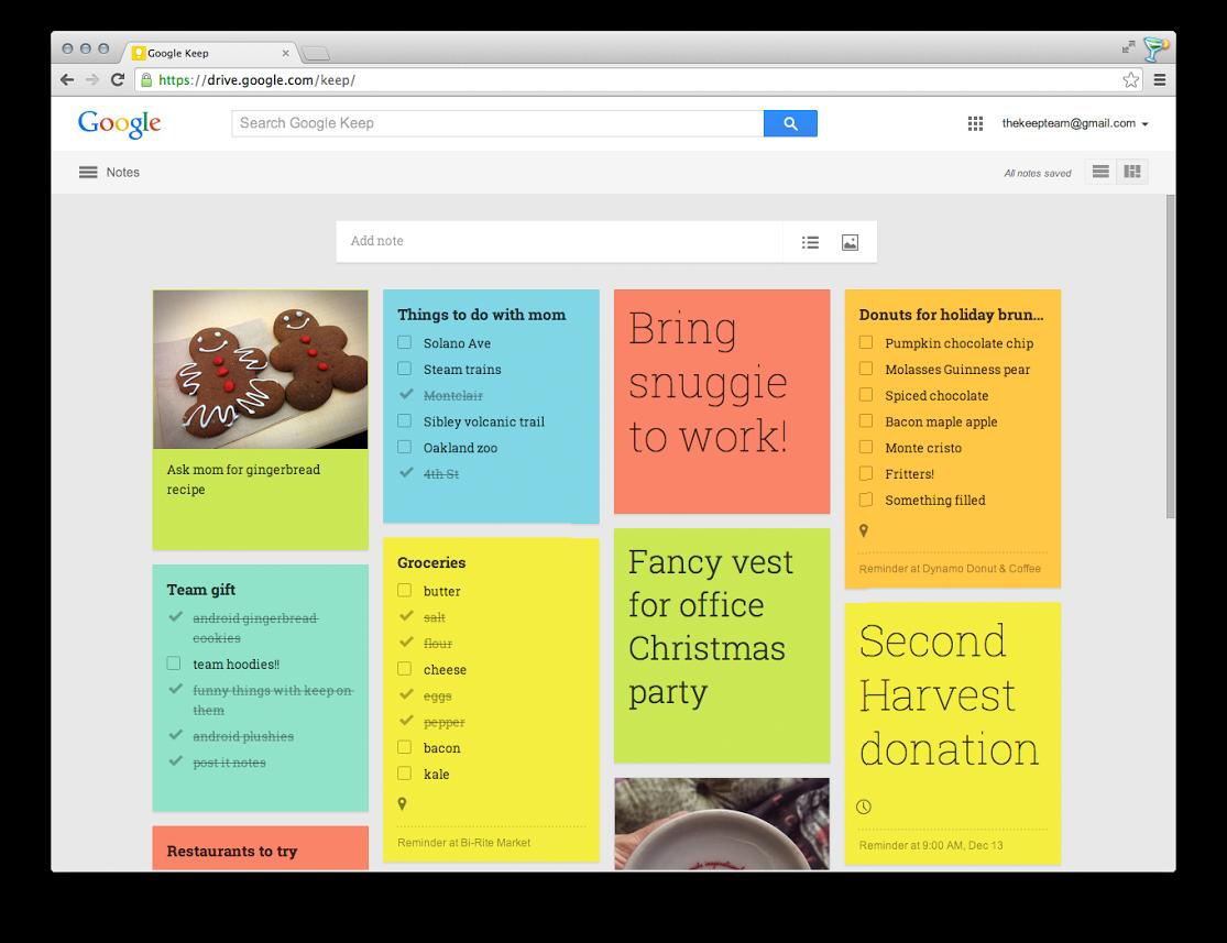 google keep tutorial 2017
