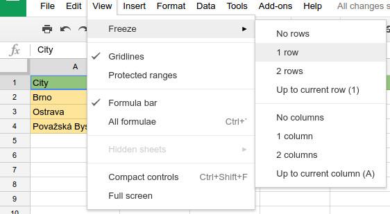 google spreadsheet tutorial 2017