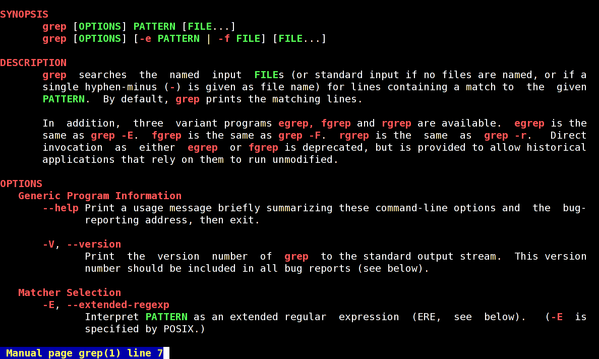 grep command in unix tutorial point