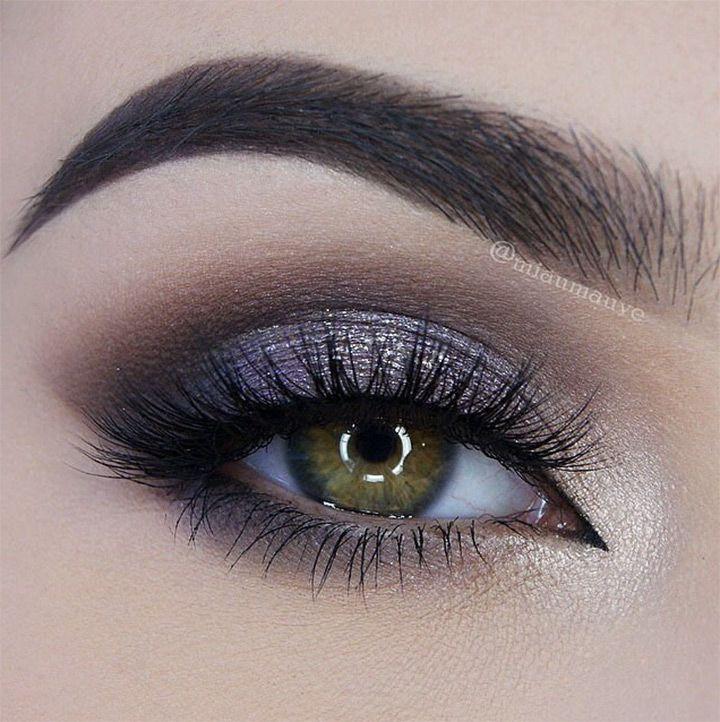 grey eye makeup tutorial
