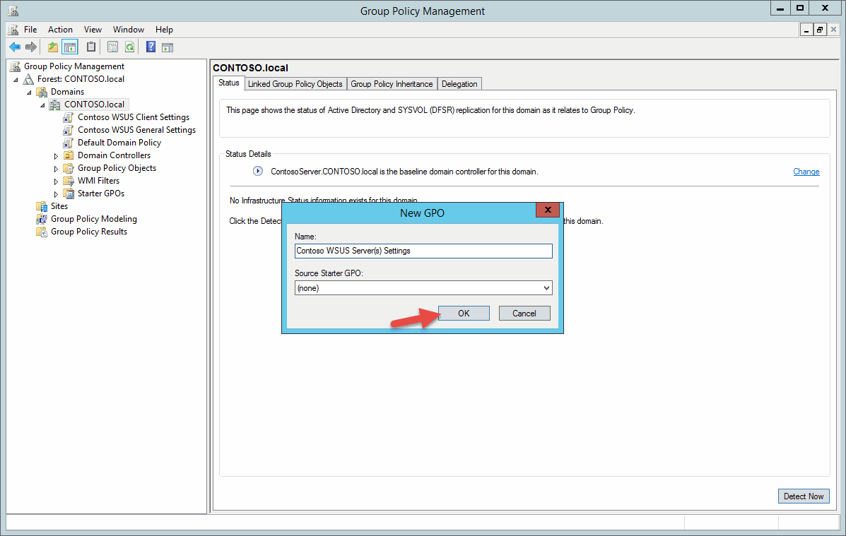 group policy tutorial server 2012