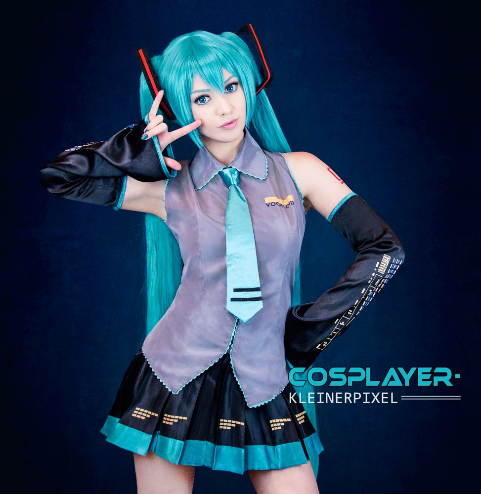 hatsune miku cosplay tutorial