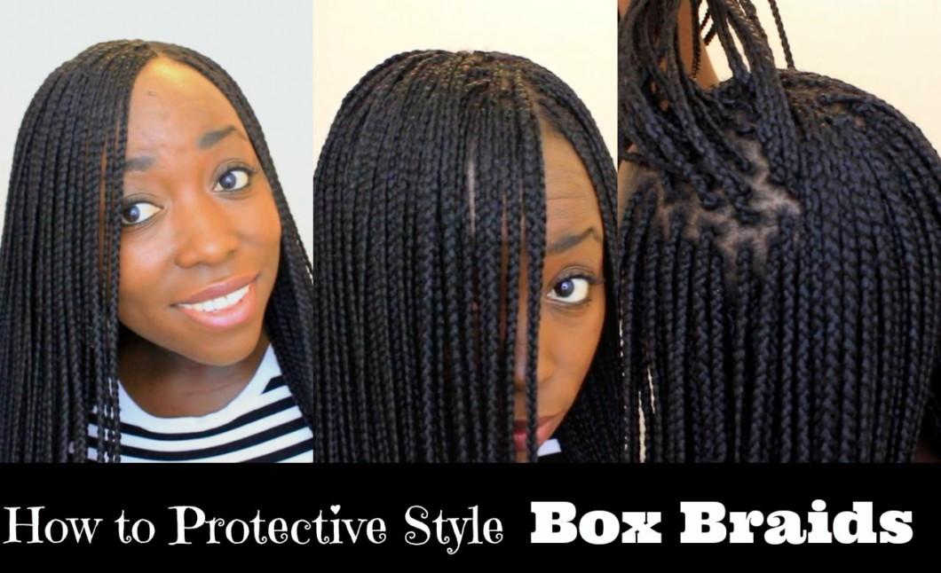 how to braid black hair tutorial