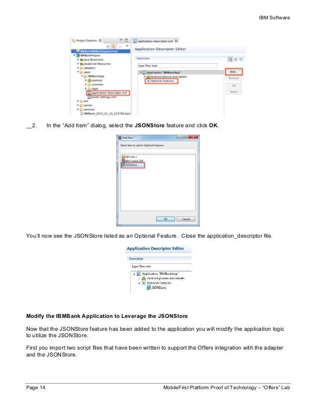ibm mobilefirst platform tutorial