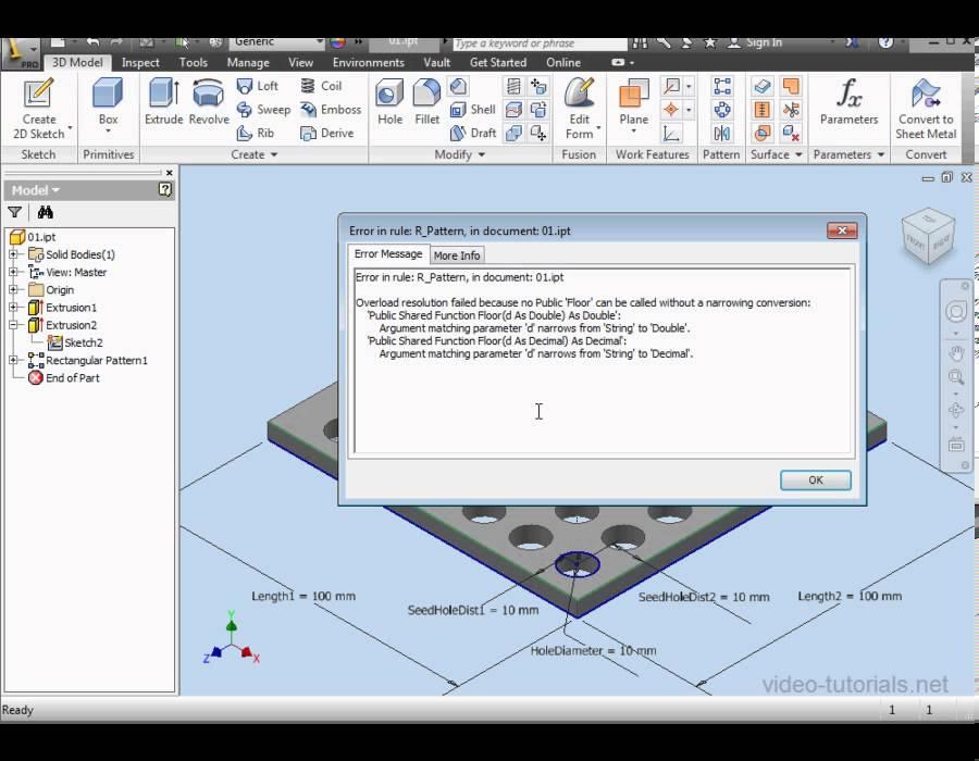 ilogic inventor tutorial pdf
