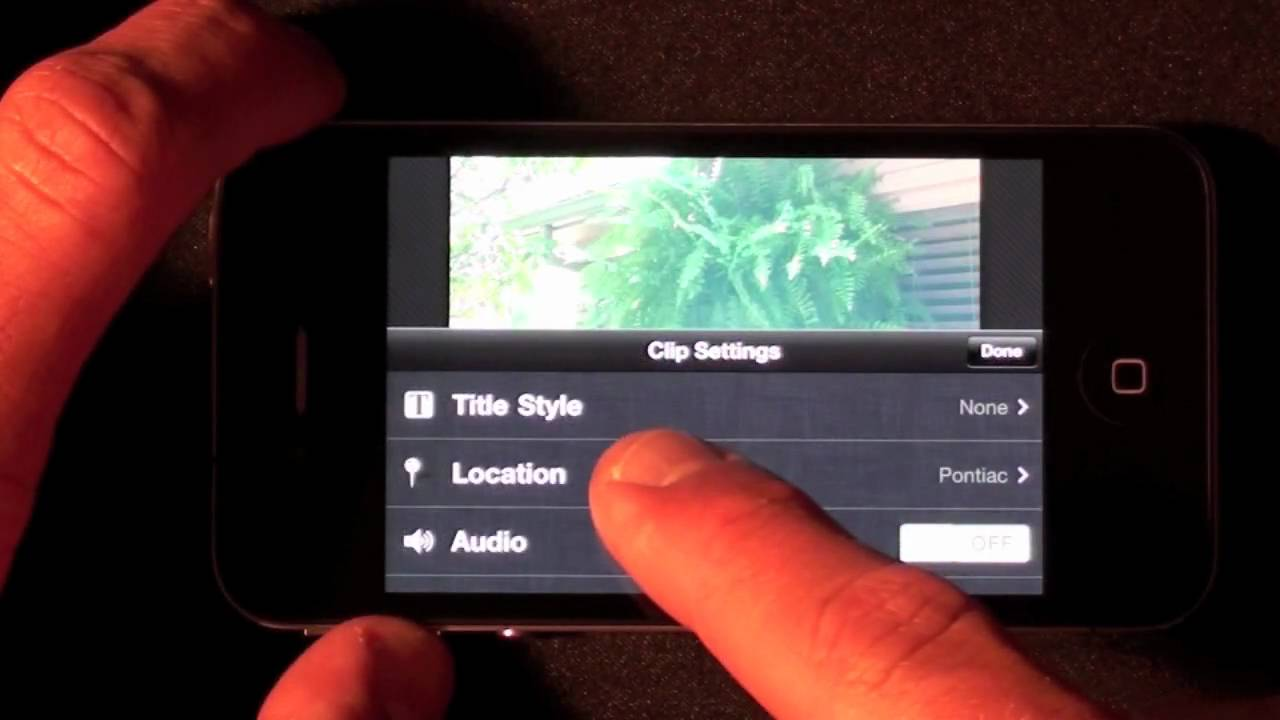 imovie iphone tutorial 2017