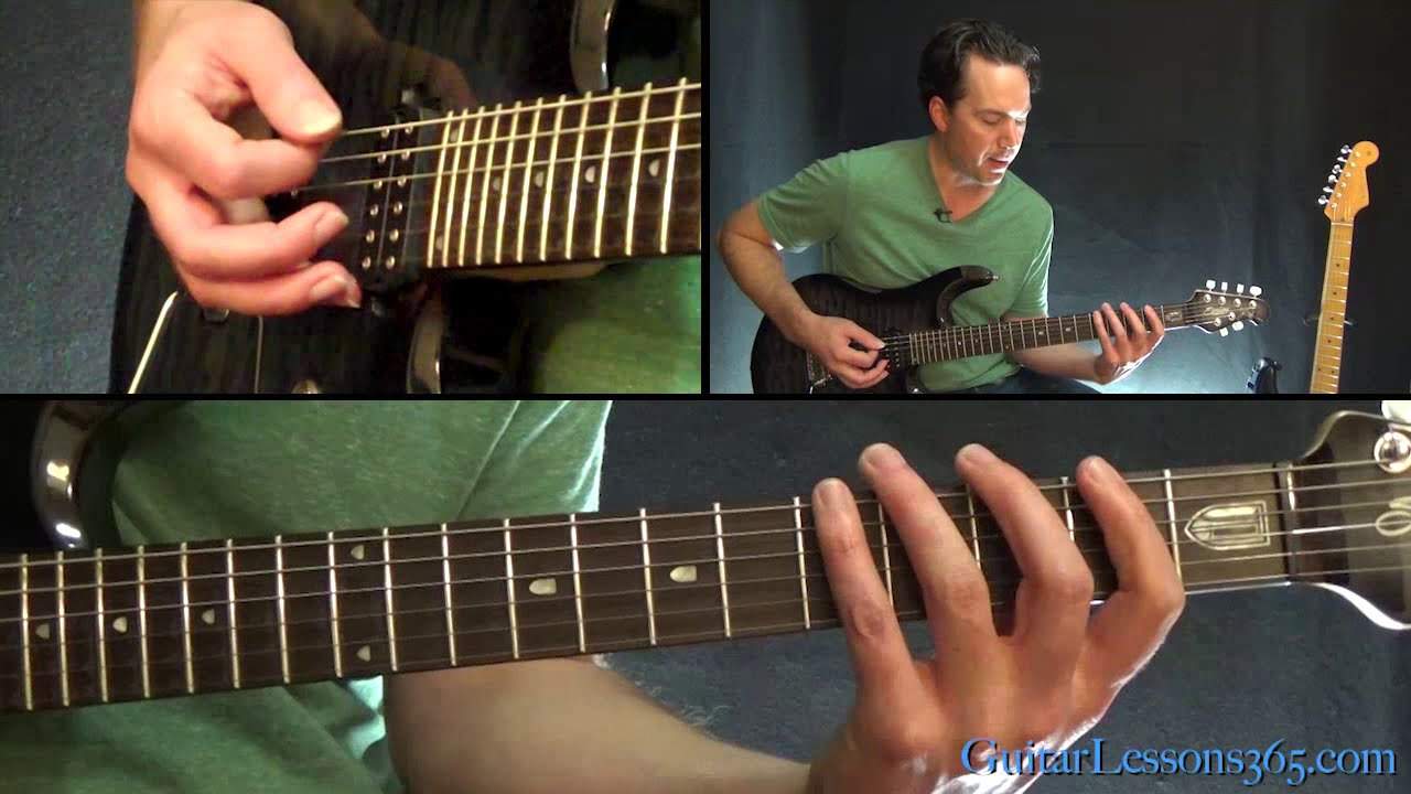 in the blood guitar tutorial