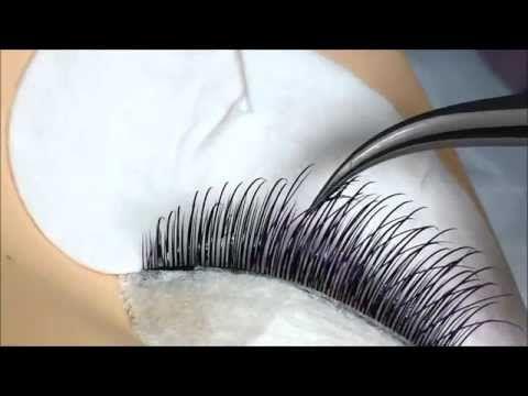 individual eyelash extension tutorial