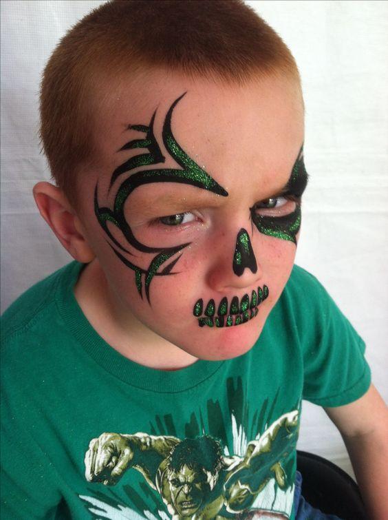 jack kid makeup tutorial