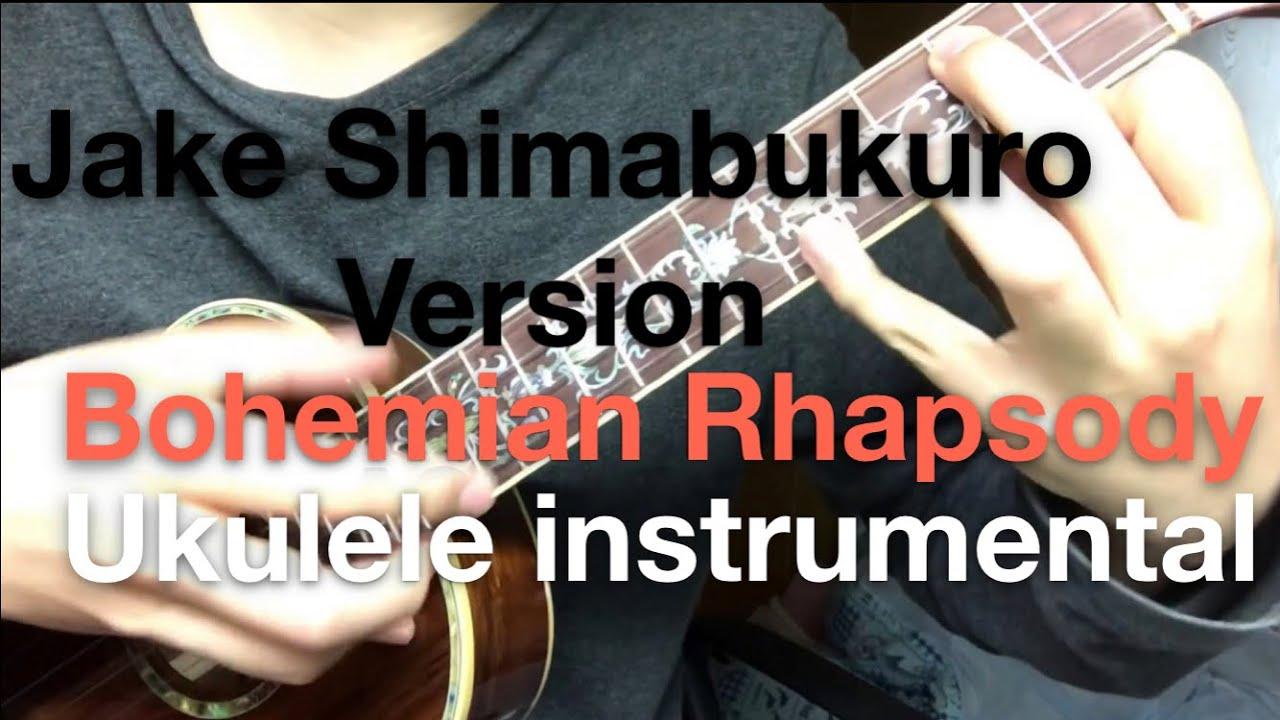 jake shimabukuro bohemian rhapsody tutorial