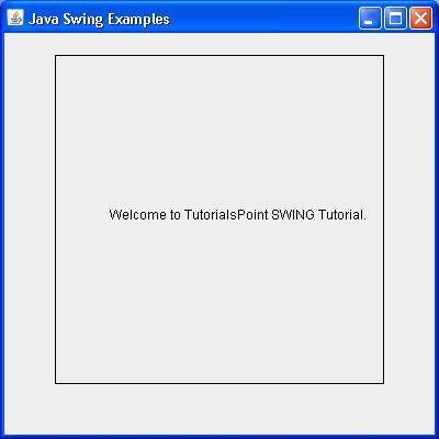java swing graphics tutorial