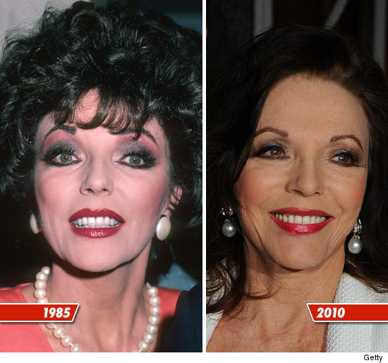 joan collins makeup tutorial