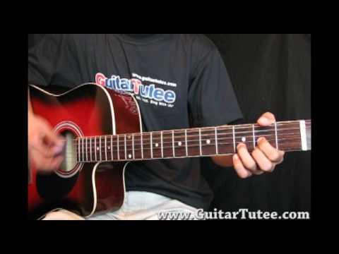 karma police acoustic tutorial