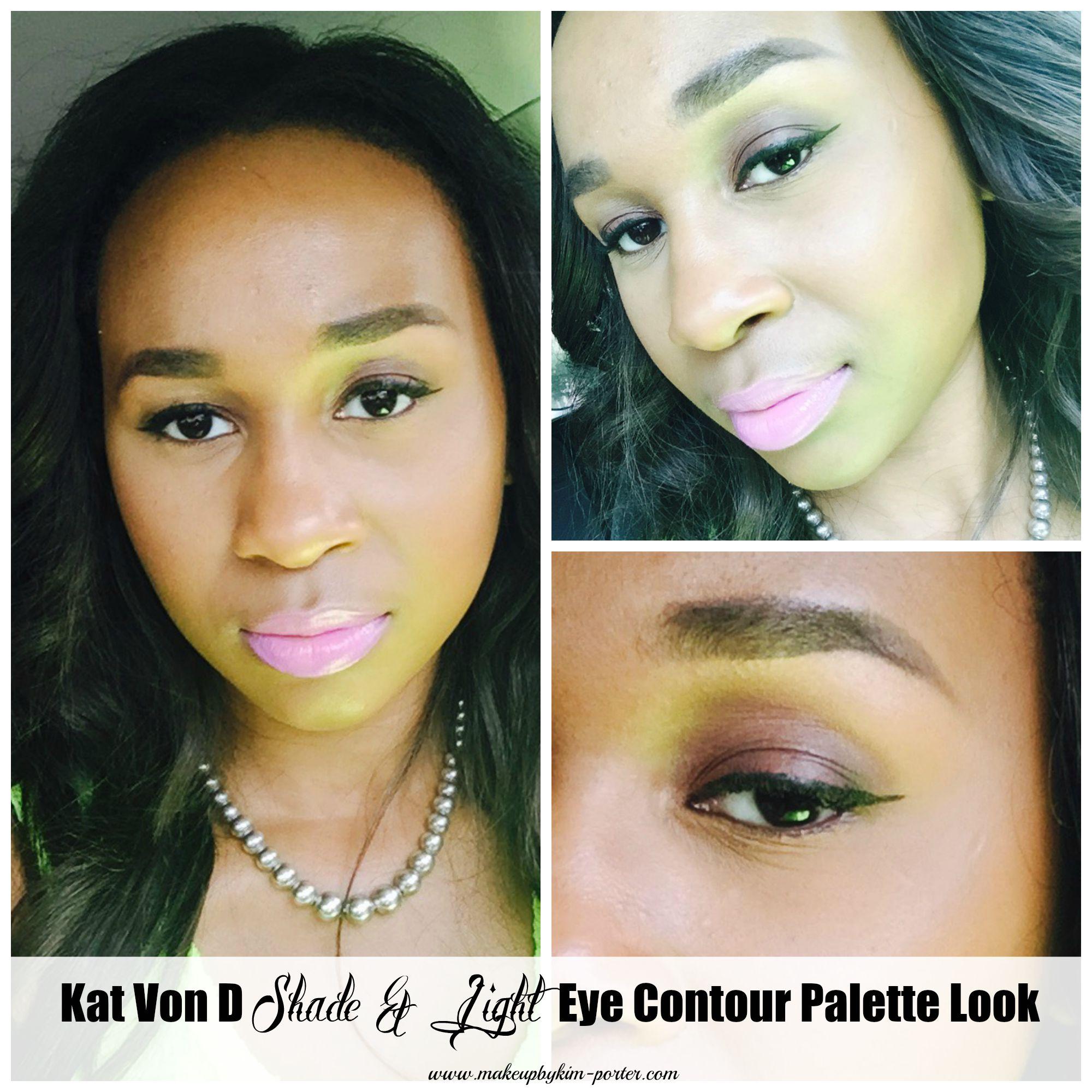 kat von d shade light eye contour palette tutorial