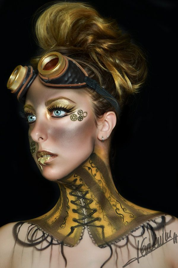 kato steampunk makeup tutorial