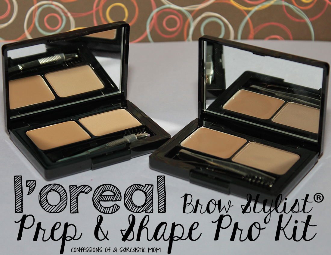 l oreal brow stylist prep and shape pro kit tutorial